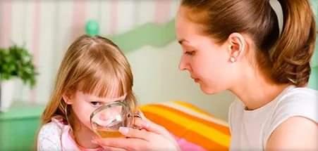 сухой кашель у ребенка без температуры обильное питье