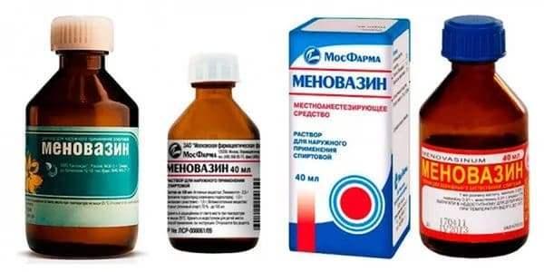 меновазин состав и свойства