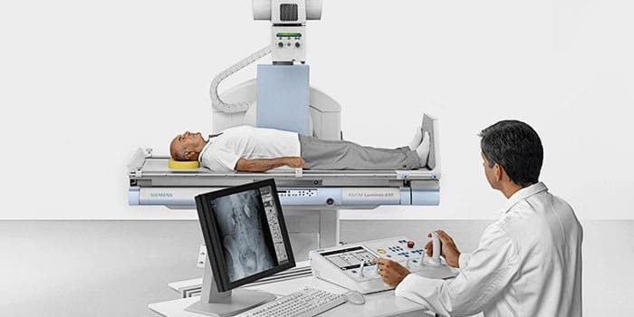 Проведение рентгенологического обследования органов брюшной полости