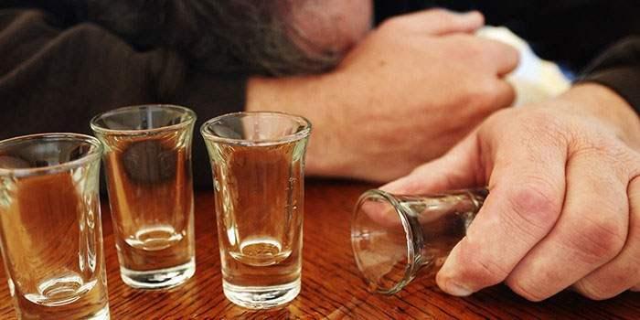 Сильная степень опьянения