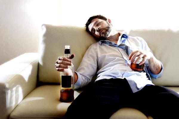 Тяжелое алкогольное опьянение