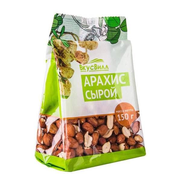 Пакетик с семенами арахиса