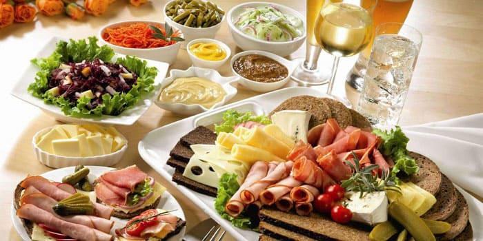 Продукты питания содержащие всвоем составе большое количество пуриновых компонентов