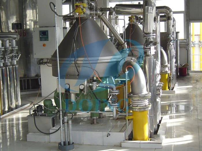 Оборудование цеха получения масла
