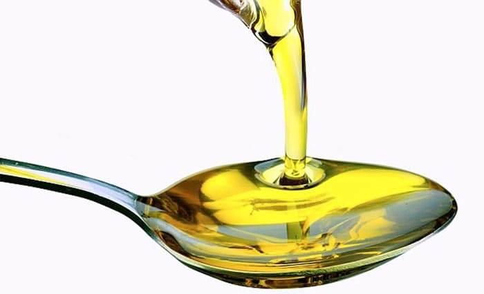 Столовая ложка касторового масла
