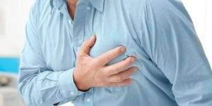 Сердечный приступ проявляющийся появлением сильной боли в области сердца